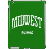 Midwest Represent (White Print) iPad Case/Skin
