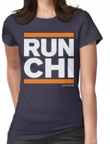 Run Chicago (v1) Womens Fitted T-Shirt