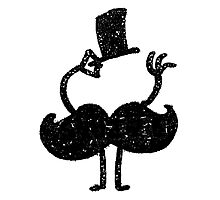Mustache Photographic Print