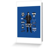 Derek Hale Quotes Teen Wolf Greeting Card