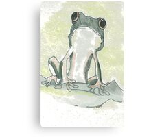 Ribbit, ribbit!    Canvas Print