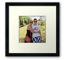 Sian and Chris, Baratti. Framed Print