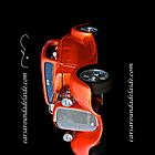 Chevrolet Hot Rod in orange. by Ferenghi
