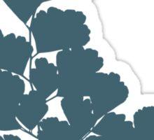 Maidenhair Fern (Blue) Sticker