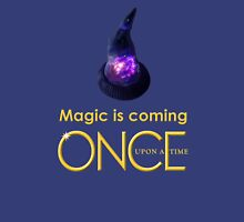 once upon a time, season 4, Sorcerers hat, magic is coming, OUAT, OUAT S4, version 1 Unisex T-Shirt
