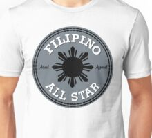 Filipino All Stars Philippines by AiReal Apparel Unisex T-Shirt