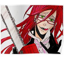 Grell Sutcliff Poster