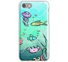 Pastel underwater case iPhone Case/Skin