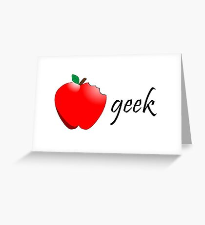 Apple Products  Greeting Card