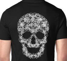Yo Skull - White Unisex T-Shirt