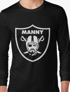 Filipino Raider Manny Pacquiao by AiReal Apparel Long Sleeve T-Shirt