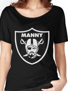 Filipino Raider Manny Pacquiao by AiReal Apparel Women's Relaxed Fit T-Shirt