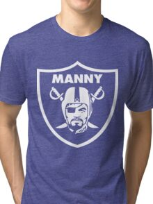 Filipino Raider Manny Pacquiao by AiReal Apparel Tri-blend T-Shirt