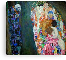 Gustav Klimt - Death and Life Canvas Print
