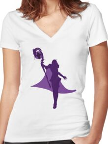 Mistletoe LeBlanc Women's Fitted V-Neck T-Shirt
