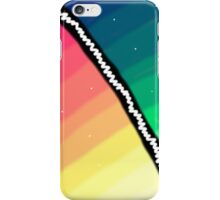 Two Shades of A Rainbow iPhone Case/Skin