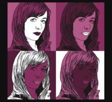 Gwen Copper in Warhol Monochrome by ErikaErisa