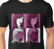 Gwen Copper in Warhol Monochrome Unisex T-Shirt