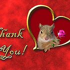 Thank You Squirrel by jkartlife