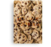 Cookie monster. Canvas Print