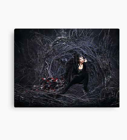 The Evil Queen - Once Upon a Time Canvas Print