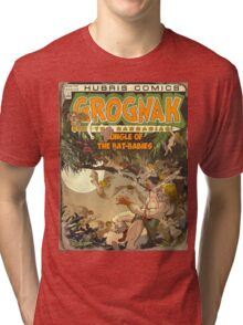 Fallout 4 - In Game Comic Cover Tri-blend T-Shirt