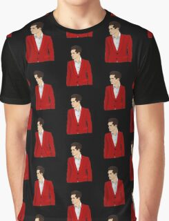 Red Suit Graphic T-Shirt