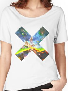 Expanse of God's Universe | Galaxy Mathematix Women's Relaxed Fit T-Shirt