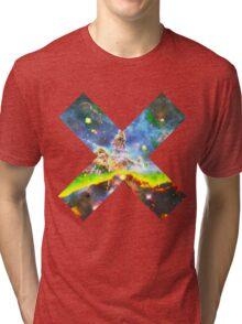 Expanse of God's Universe | Galaxy Mathematix Tri-blend T-Shirt