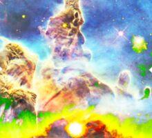 Expanse of God's Universe | Galaxy Mathematix Sticker