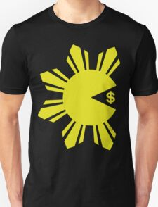 PACMAN PACQUIAO EATING MONEY by AiReal Unisex T-Shirt