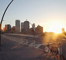 Brisbane Sunrise by Samantha Vilkins