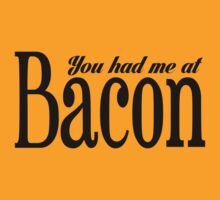 You Had Me At Bacon (black ink) Workout Tee. Crossfit Tee. Exercise Tee. Weightlifting Tee. Running Tee. Fitness by Max Effort