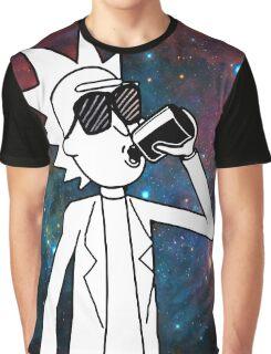 Rick Sanchez: Space Drunk  Graphic T-Shirt