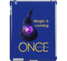 once upon a time, season 4, Sorcerers hat, magic is coming, OUAT, OUAT S4, version 2 iPad Case/Skin
