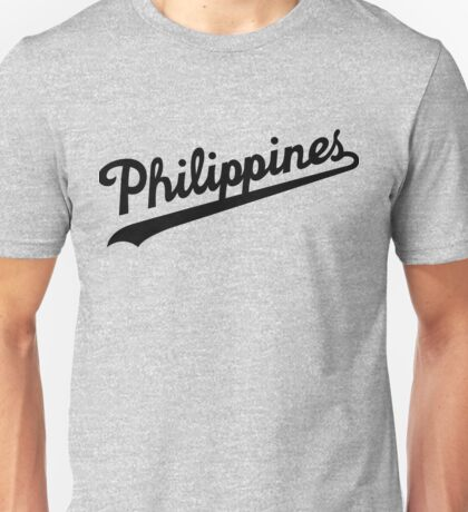 Philippines Dodgers Script by AiReal Apparel Unisex T-Shirt