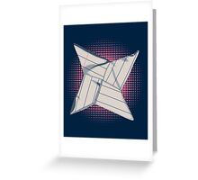 Paper Star Greeting Card