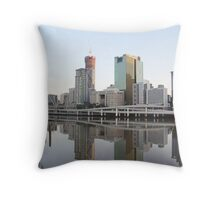Brisbane 5am Throw Pillow