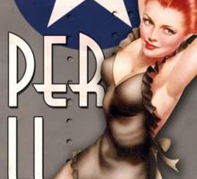 """Paper Doll"" WWII Nose Art Sticker"