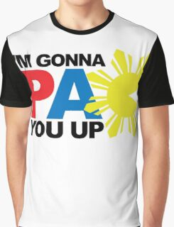 Pacquiao PAC YOU Up by AiReal Apparel Graphic T-Shirt
