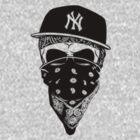 Gangsta Skull by clubbers06