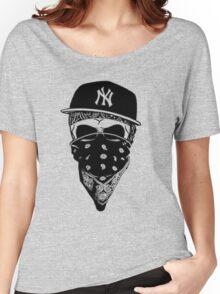 Gangsta Skull Women's Relaxed Fit T-Shirt