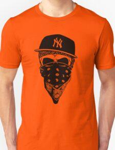 Gangsta Skull Unisex T-Shirt