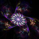 Flowery Swirls by Virginia N. Fred