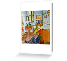 Art Giraffe- Bedroom at Arles Greeting Card