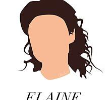 Seinfeld - Elaine Headshot by alainaborst