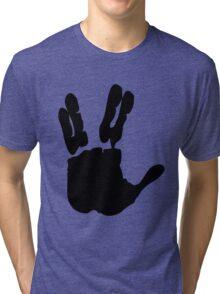 Vulcan Salute Tri-blend T-Shirt