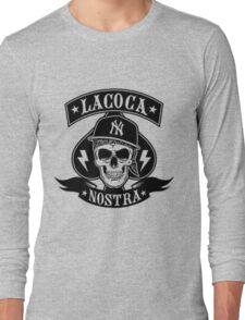 Cocaine gangster Skull Long Sleeve T-Shirt