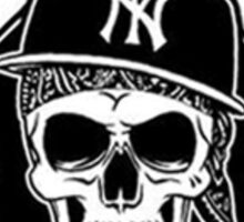 Cocaine gangster Skull Sticker