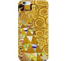 Gustav Klimt - Expectation iPhone Case/Skin